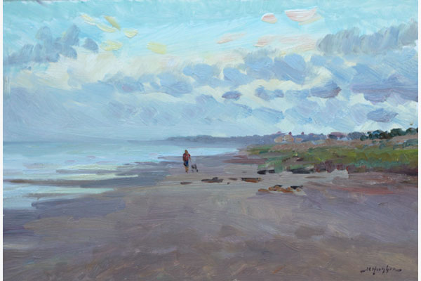 """Carolina Coast"" <br /> 8x12"" oil - available -  #1719"