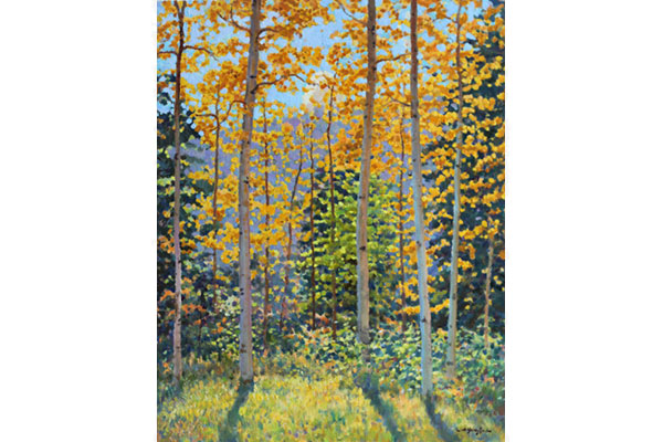 """Aspen"" <br /> 20x16"" oil - available - #1716 <br />"